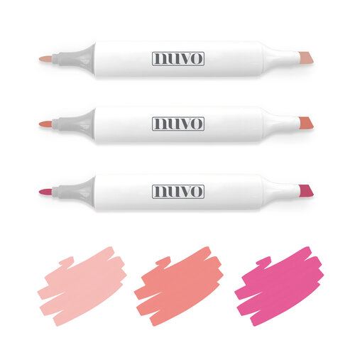 Nuvo - Creative Pens - Rosy Pinks
