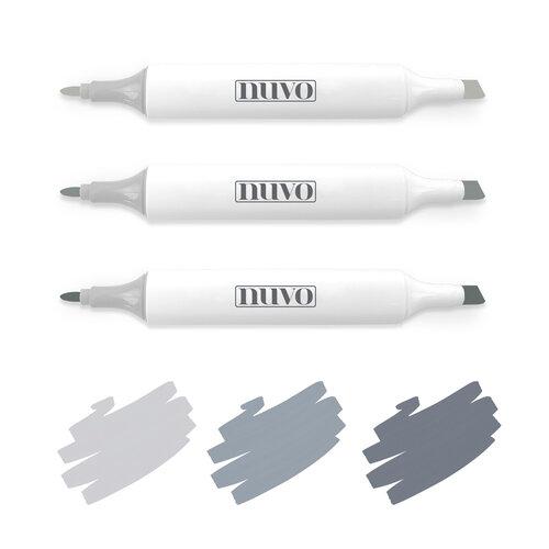Nuvo - Creative Pens - Stormy Greys