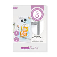 Tonic Studios - Shaker Creator - Cheers Die And Shaker Set - Beer Glass