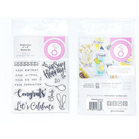 Tonic Studios - Shaker Creator - Clear Photopolymer Stamp Set - Celebrate