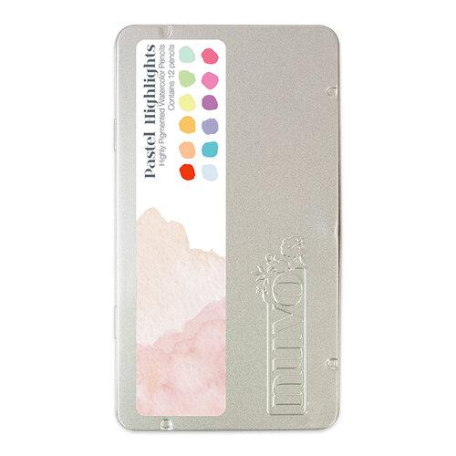 Nuvo - Watercolor Pencils - Pastel Highlights