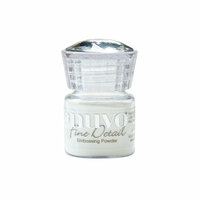 Nuvo - Embossing Powder - Microfine - Glacier White