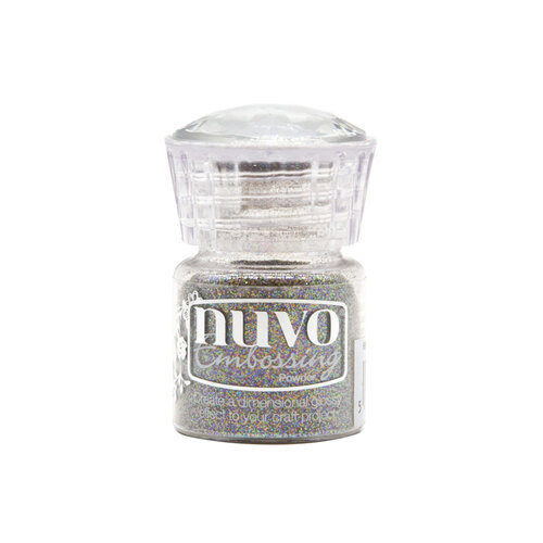 Nuvo - White Wonderland Collection - Embossing Powder - Twinkling Tinsel
