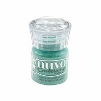 Nuvo - Dream In Colour Collection - Embossing Powder - Ocean Sparkle
