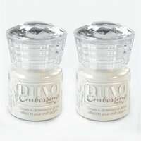 Nuvo - Embossing Powder - Shimmering Pearl - 2 Pack