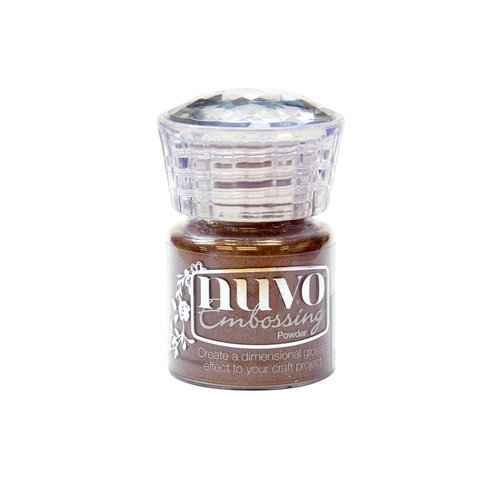 Nuvo - Arabian Nights Collection - Embossing Powder - Copper Blush