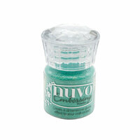 Nuvo - Merry and Bright Collection - Embossing Powder - Turquoise Lagoon