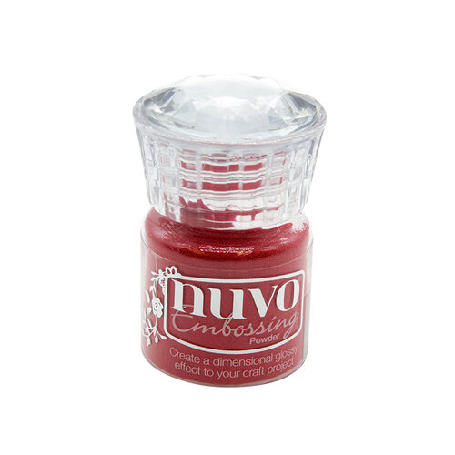 Nuvo - Merry and Bright Collection - Embossing Powder - Sportscar Red