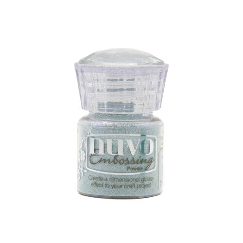 Nuvo - White Wonderland Collection - Embossing Powder - Snow Crystal
