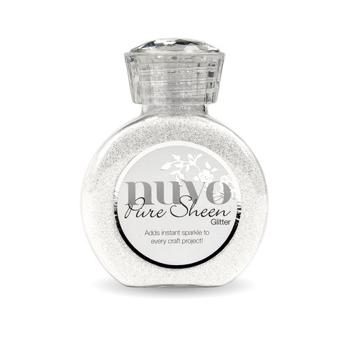 Nuvo - Pure Sheen Glitter - Ice White