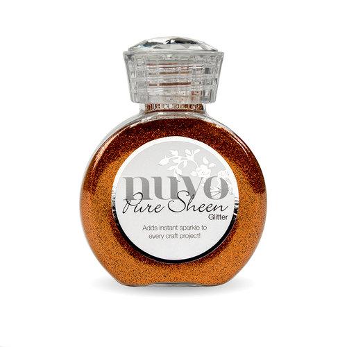 Nuvo - Pure Sheen Glitter - Spice Apricot