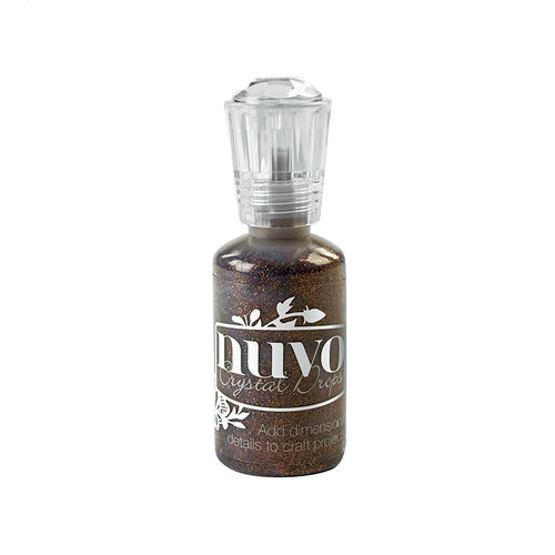 Nuvo Glitter Crystal Drops Chocolate Fondue