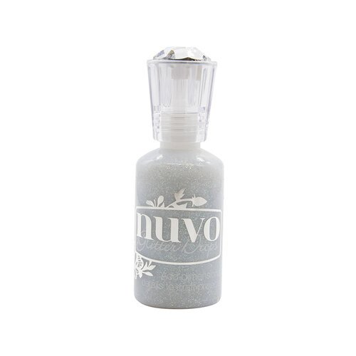 Nuvo - Merry and Bright Collection - Glitter Drops - Silver Crystals