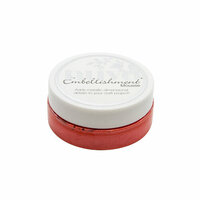 Nuvo - Merry and Bright Collection - Embellishment Mousse - Fusion Red