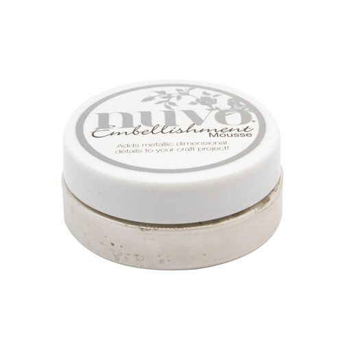 Nuvo - White Wonderland Collection - Embellishment Mousse - Snow Storm