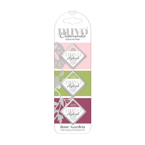 Nuvo - Diamond Hybrid Ink Pads - Rose Garden