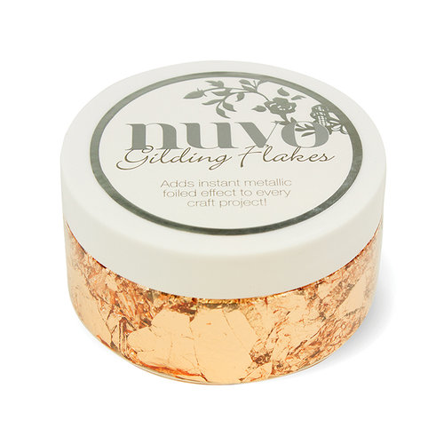 Tonic Studios - Nuvo Collection - Gilding Flakes - Sunkissed Copper