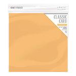 Tonic Studios - Craft Perfect - Textured Classic Cardstock - 12 x 12 - Apricot Orange