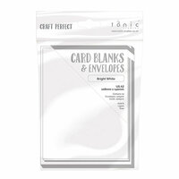 Tonic Studios - Craft Perfect - Card Blanks - Bright White - A2