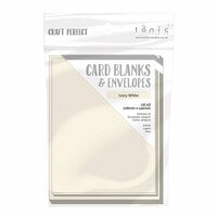 Tonic Studios - Craft Perfect - Card Blanks - Ivory White - A2