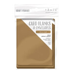 Tonic Studios - Craft Perfect - Card Blanks - Brown Kraft - A2