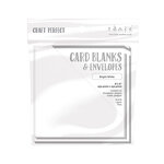 Tonic Studios - Craft Perfect - Card Blanks - Bright White - 6 x 6