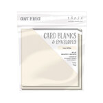 Tonic Studios - Craft Perfect - Card Blanks - Ivory White - 6 x 6