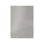 Tonic Studios - Craft Perfect - Foiled Kraft Card - A4 - Silver Stripes