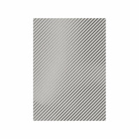 Tonic Studios - Craft Perfect - Foiled Kraft Card - A4 - Silver Stripes - 5 Pack