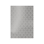 Tonic Studios - Craft Perfect - Foiled Kraft Card - A4 - Silver Damask