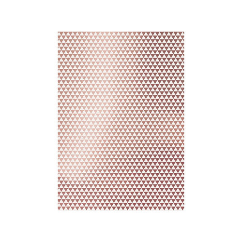 Tonic Studios - Craft Perfect - Foiled Kraft Card - A4 - Rose Gold Triangles - 5 Pack