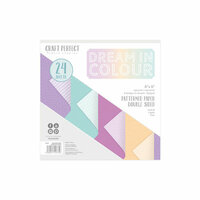 Tonic Studios - Craft Perfect - Luxury Embossed Card - 6 x 6 - Dream in Colour - 24 Sheets