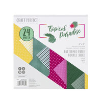 Tonic Studios - Tropical Paradise Collection - Craft Perfect - 6 x 6 Patterned Paper Pad