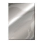 Tonic Studios - 8.5 x 11 Cardstock - Mirror Card - Gloss - Chrome Silver