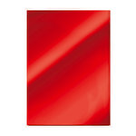 Tonic Studios - 8.5 x 11 Cardstock - Mirror Card - Gloss - Ruby Red - 5 Pack