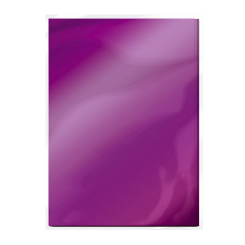Tonic Studios - 8.5 x 11 Cardstock - Mirror Card - Gloss - Electric Purple - 5 Pack