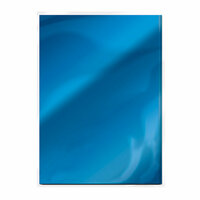 Tonic Studios - 8.5 x 11 Cardstock - Mirror Card - Gloss - Imperial Blue - 5 Pack