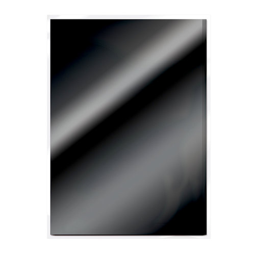 Tonic Studios - 8.5 x 11 Cardstock - Mirror Card - Gloss - Black