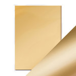 Tonic Studios - 8.5 x 11 Cardstock - Mirror Card - Satin - Honey Gold