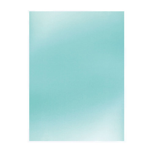 Tonic Studios - Ocean Air Collection - Mirror Card Satin - 8.5 x 11 Paper - Silky Sky - 5 Pack