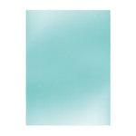 Tonic Studios - Ocean Air Collection - Mirror Card Satin - 8.5 x 11 Paper - Silky Sky - 5 Pack