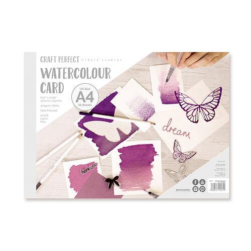 Tonic Studios - Craft Perfect - Watercolour Cards - A4 - 15 Sheets