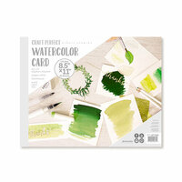 Tonic Studios - Craft Perfect - Watercolour Cards - 8.5 x 11 - 15 Sheets