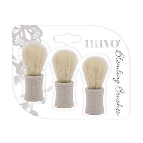 Nuvo - Blending Brushes - 3 Pack