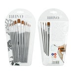 Tonic Studios - Nuvo Collection - Nylon Brushes - 12 Pack