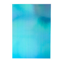 Tonic Studios - Craft Perfect - 8.5 x 11 Cardstock - Iridescent Mirror Card - Mariana Mist - 5 Pack