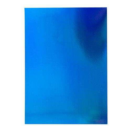 Tonic Studios - Craft Perfect - 8.5 x 11 Cardstock - Iridescent Mirror Card - Tidal Wave
