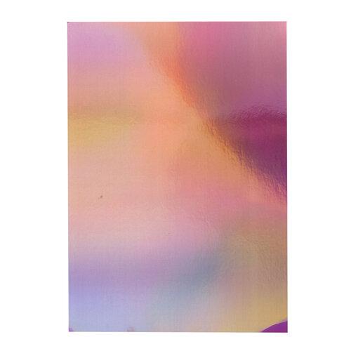 Tonic Studios - Craft Perfect - 8.5 x 11 Cardstock - Iridescent Mirror Card - Petal Pink - 5 Pack