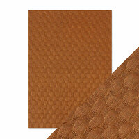 Tonic Studios - Hand Crafted Embossed Cotton Paper - A4 - Spice Basket - 5 Pack