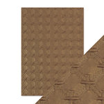 Tonic Studios - Hand Crafted Embossed Cotton Paper - A4 - Patchwork Parchment